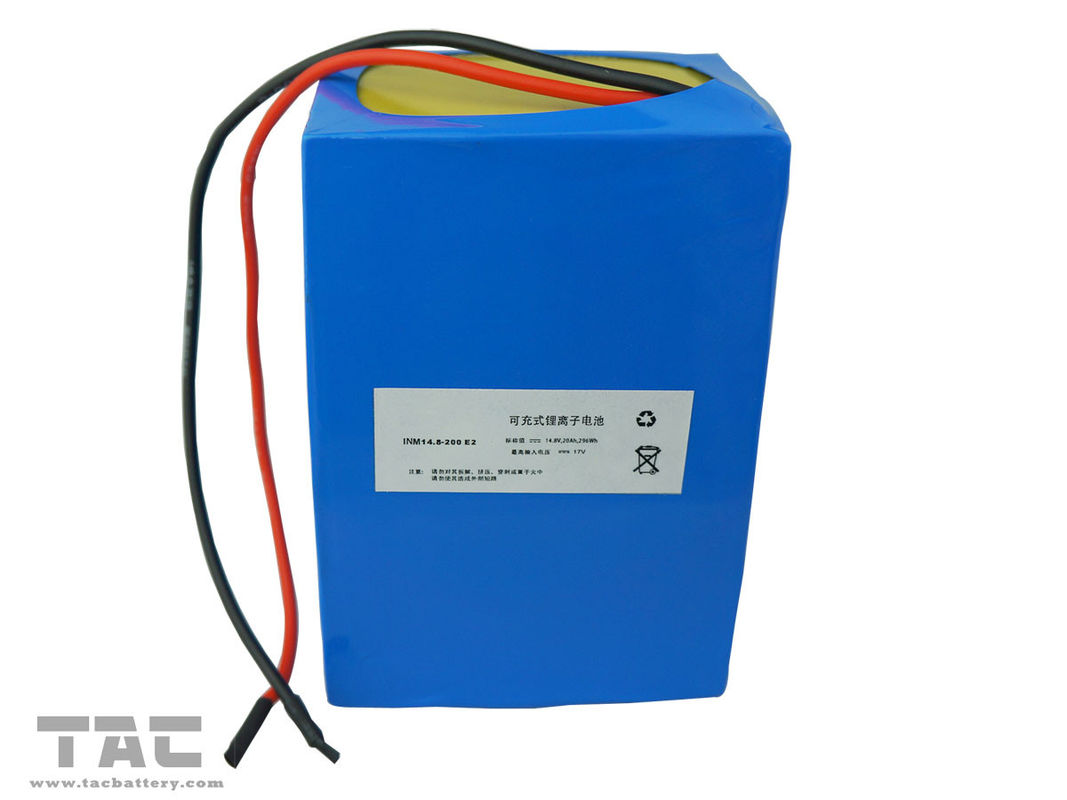 14.8v Lithium-ion  Rechargeable Batteries Cylindrical 20ah For Energy Storage